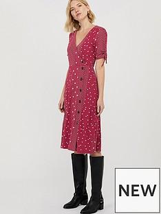 monsoon-sarai-star-print-jersey-midi-dress-red