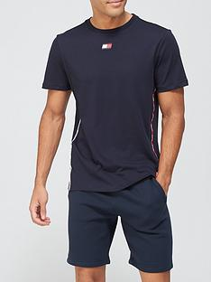 tommy-sport-piping-t-shirt-navy