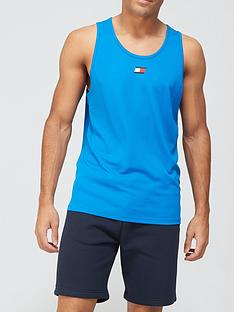 tommy-sport-training-tank-top-blue