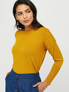 monsoon-patsy-popper-knit-jumper-ochre