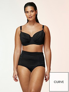 evans-high-waisted-bikini-briefs-black
