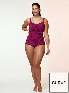 evans-essential-high-waisted-bikininbspbriefs-berry