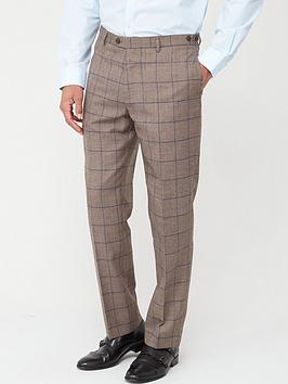 skopes-tailored-welburn-trousers-brown-check