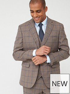 skopes-tailored-welburn-jacket-brown-check