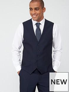 skopes-standard-ferry-waistcoat-navy-jacquard-weave