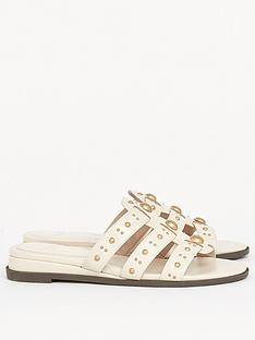 evans-extra-wide-fit-studded-sliders-ivory