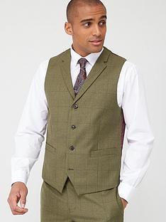 skopes-standard-moonen-waistcoat-olive-check