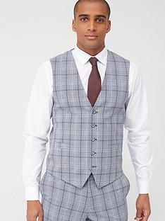 skopes-standard-stark-waistcoat-greyblue-check