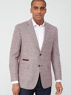 skopes-tailored-bonucci-textured-jacket-coral