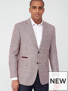 skopes-tailored-bonucci-textured-jacket-coral