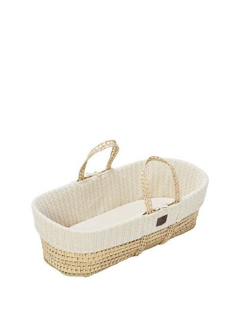 the-little-green-sheep-organic-knit-moses-basket-set-cream