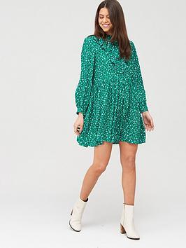 river-island-river-island-prarie-printed-smock-dress-green