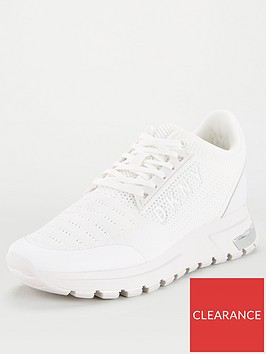 dkny-melz-knit-logo-trainers-white