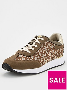 dkny-arlie-all-over-logo-trainers-brown
