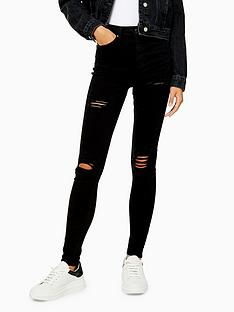 topshop-topshop-super-ripped-jamie-jeans-black