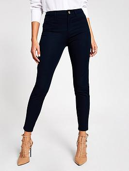 river-island-river-island-molly-mid-rise-skinny-trouser-navy
