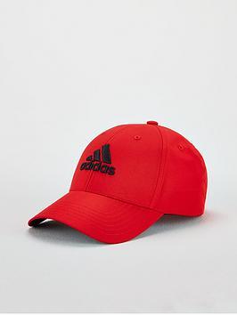 adidas-golf-badge-of-sport-cap-red