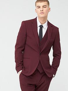 river-island-stretch-skinny-suit-jacket-dark-red