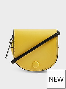 topshop-frenchie-saddle-pouch-bag-yellow