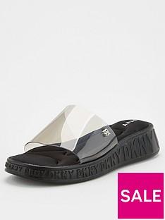 dkny-mezz-clear-logo-slides-black