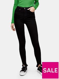 topshop-jagged-hemnbspjamie-jeans-black