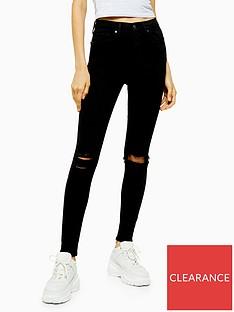 topshop-arizona-rip-jamie-jeans-black