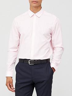 very-man-long-sleeved-easycare-shirt-pink
