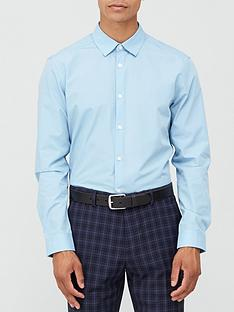very-man-long-sleeved-easycare-shirt-blue