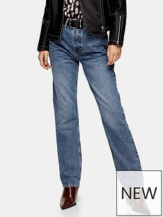 topshop-topshop-dad-jeans-blue