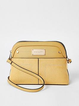 river-island-river-island-pocket-front-cross-body-bag-yellow