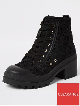river-island-river-island-lace-detail-chunky-lace-up-boot-black