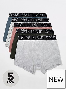 river-island-logo-5-pack-trunks