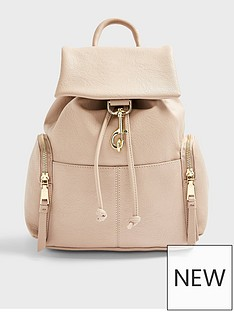 topshop-dog-clip-backpack-stone