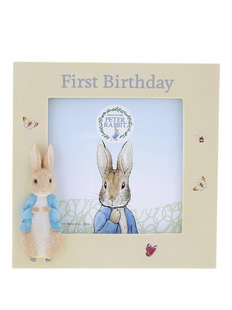 peter-rabbit-1st-birthday-photo-frame