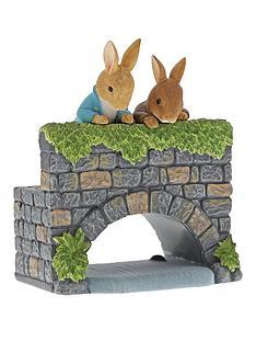 peter-rabbit-over-the-bridge-figurine
