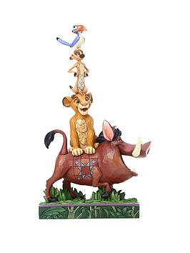 Product photograph showing Disney The Lion King Balance Of Nature Figurine