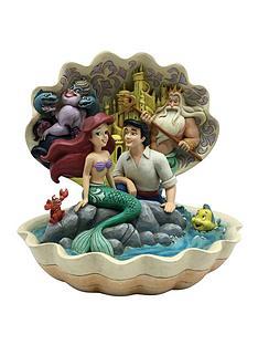 disney-the-little-mermaid-shell-scene-figurine