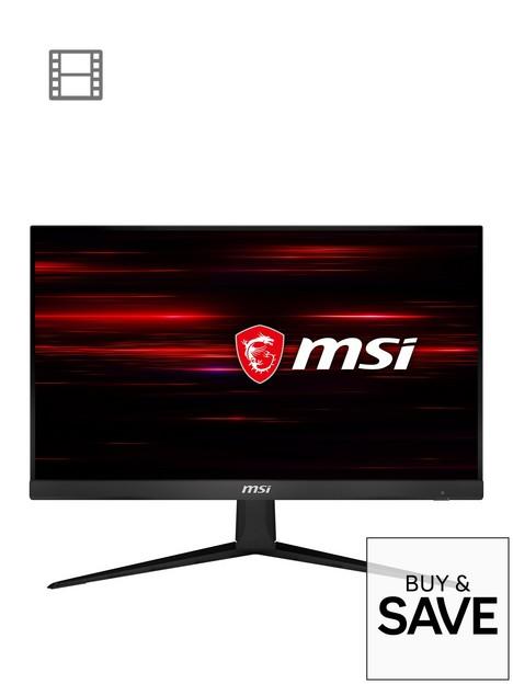 msi-optix-g241-238-inch-full-hd-ips-1ms-144hz-amd-freesync-flat-gaming-monitor-black