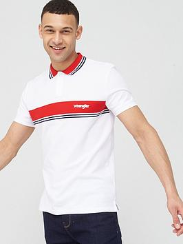 wrangler-colour-block-stripe-polo-shirt-white