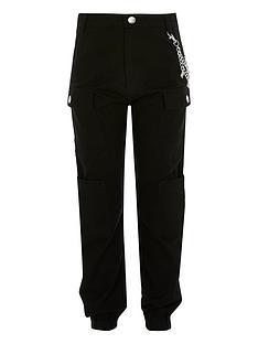 river-island-girls-chain-cargo-trousers-black