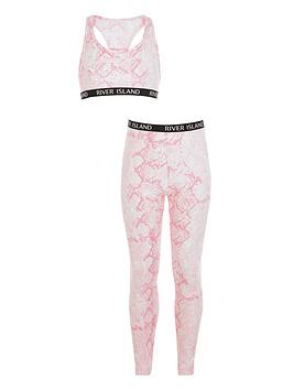 river-island-girls-snake-top-and-legging-set-pink