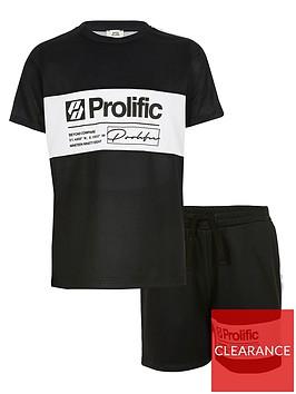 river-island-boys-prolific-blocked-shorts-and-tshirt-set-navy