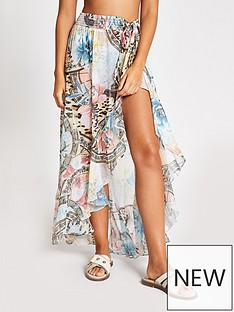 river-island-printed-beach-maxi-skirt