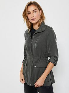 mint-velvet-studded-tencelreg-jacket-khaki