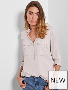 mint-velvet-utility-zip-front-shirt-neutral