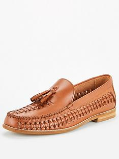 office-clapham-woven-tasselnbsploafers-brown