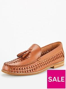 office-clapham-woven-tasselnbsploafers-brown