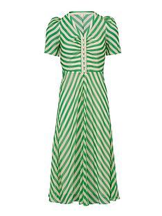 lk-bennett-holzer-silk-striped-pearl-detail-dress-green