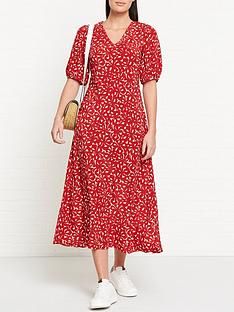 lk-bennett-simpson-floral-print-oversized-sleeve-midi-dress-red
