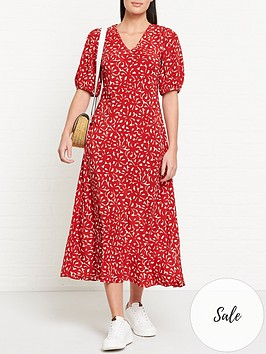 lk-bennett-simpson-floral-print-oversized-sleeve-midi-dress-red